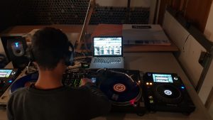 Young Person DJing