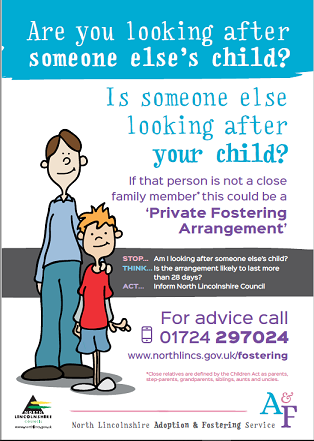 Private Fostering Poster